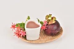 Mangosteen Juice. Stock Photography