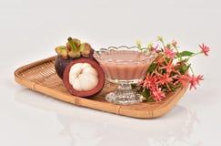 Mangosteen Juice. Stock Images