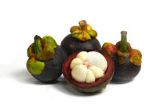 Mangosteen. Local garden fruits of Thailand Royalty Free Stock Images