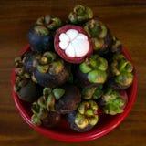 Mangosteen. Is queen of fruits Stock Images