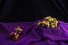 Mangosteen, Queen of fruits. Royalty Free Stock Photos