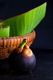 Mangosteen, Queen of fruits. Royalty Free Stock Photography