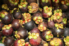Mangosteen, Thailand. Stock Images
