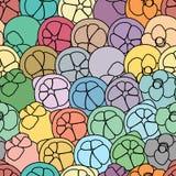 Mangosteen vector art seamless background. Mangosteen vector art and seamless background Vector Illustration