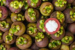 Mangosteenfrukter. Royaltyfria Foton