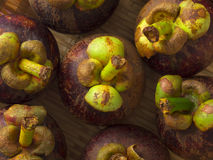 Mangosteens Stock Photos