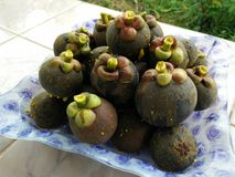Mangosteens Royalty Free Stock Photography