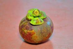 Mangostenfruit stock afbeeldingen