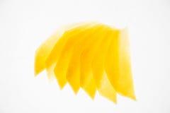 Mangowi plasterki Fotografia Stock