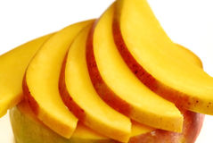 mangowi plasterki obraz stock