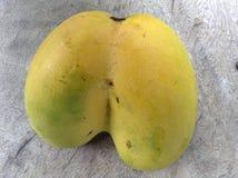 Mangowy bliźniaczy serce Obrazy Royalty Free
