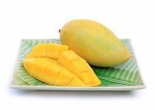 mangowy kolor żółty Zdjęcie Royalty Free