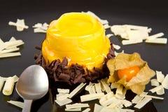 Mangowy kulebiak Fotografia Royalty Free