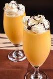 Mangowy Milkshake Obrazy Stock