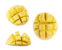 Mangowy owocowy hadgehog odizolowywający Fotografia Royalty Free