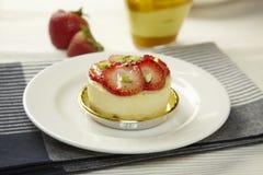Mangowy pudding Zdjęcia Royalty Free