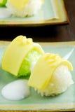 mangowy ryżowy kleisty Obraz Royalty Free