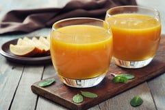 Mangowy smoothie Zdjęcie Royalty Free