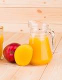 Mangowy sok Fotografia Royalty Free