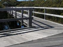 Mangrove boardwalk Stock Photos