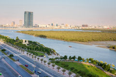 Mangroves in Ras Al Khaimah UAE Stock Photo