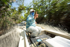 Mangrowe kanał Fotografia Royalty Free