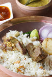 Mangsherkari. A Bengali mutton dish Stock Photography