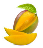 Mangue avec la section photo stock
