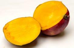 Mangue coupée en tranches Photos libres de droits