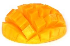 Mangue coupée en tranches Photos stock