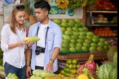 Mangue de achat de couples Image libre de droits
