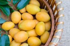 Mangue de prune, ou fruit marial de prune Photo stock