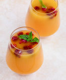 Mangue et framboise Mojito photos stock