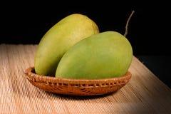 Mangue fraîche de couples Photo stock