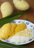 Mangue rice#1 collant Photo libre de droits