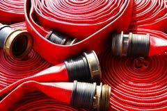 Mangueira de incêndio Fotos de Stock Royalty Free