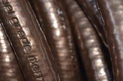 Manguera de cobre Foto de archivo