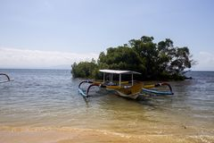 Manguezais de Katamanarn há, Lembongan, Indonésia Fotos de Stock