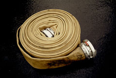 Manguito de la boca de riego de fuego Fotos de archivo libres de regalías