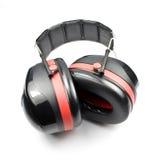Manguitos del oído o protector contra el ruido Fotos de archivo