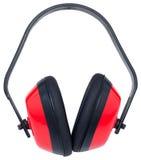Manguitos rojos del oído Fotos de archivo libres de regalías