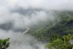 Mangunan Misty View Imagenes de archivo
