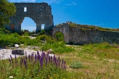 Mangup Kale Crimea Stock Images