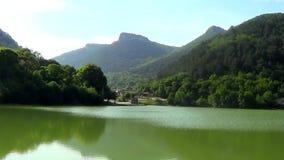 Mangup lake stock footage