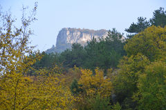 Mangup rocks in autumn Stock Photography