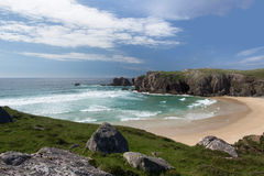 Mangurstadh beach on Lewis Royalty Free Stock Image