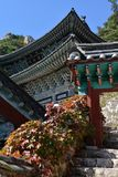 Mangwolsa Temple, Dobongsan National Park, Seoul, Korea royalty free stock images