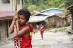 Mangyan Tribe Boy Stock Images