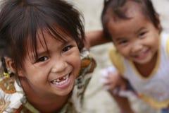 Mangyan Tribe Girls Royalty Free Stock Images