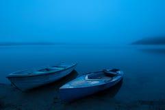 Manhã azul Fotos de Stock